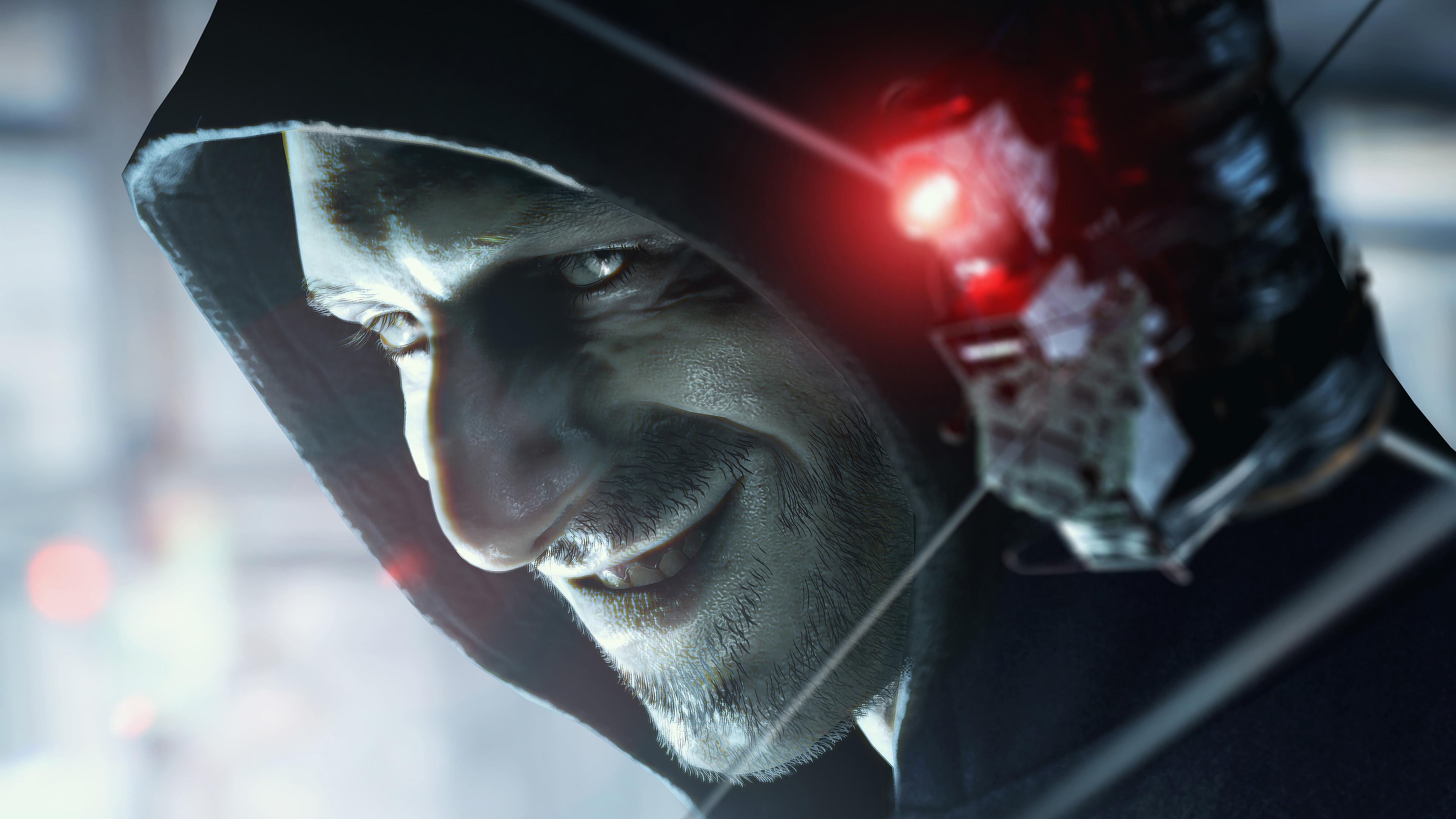 3840x2400 Lucas Baker Resident Evil 7 Biohazard 4k 3840x2400