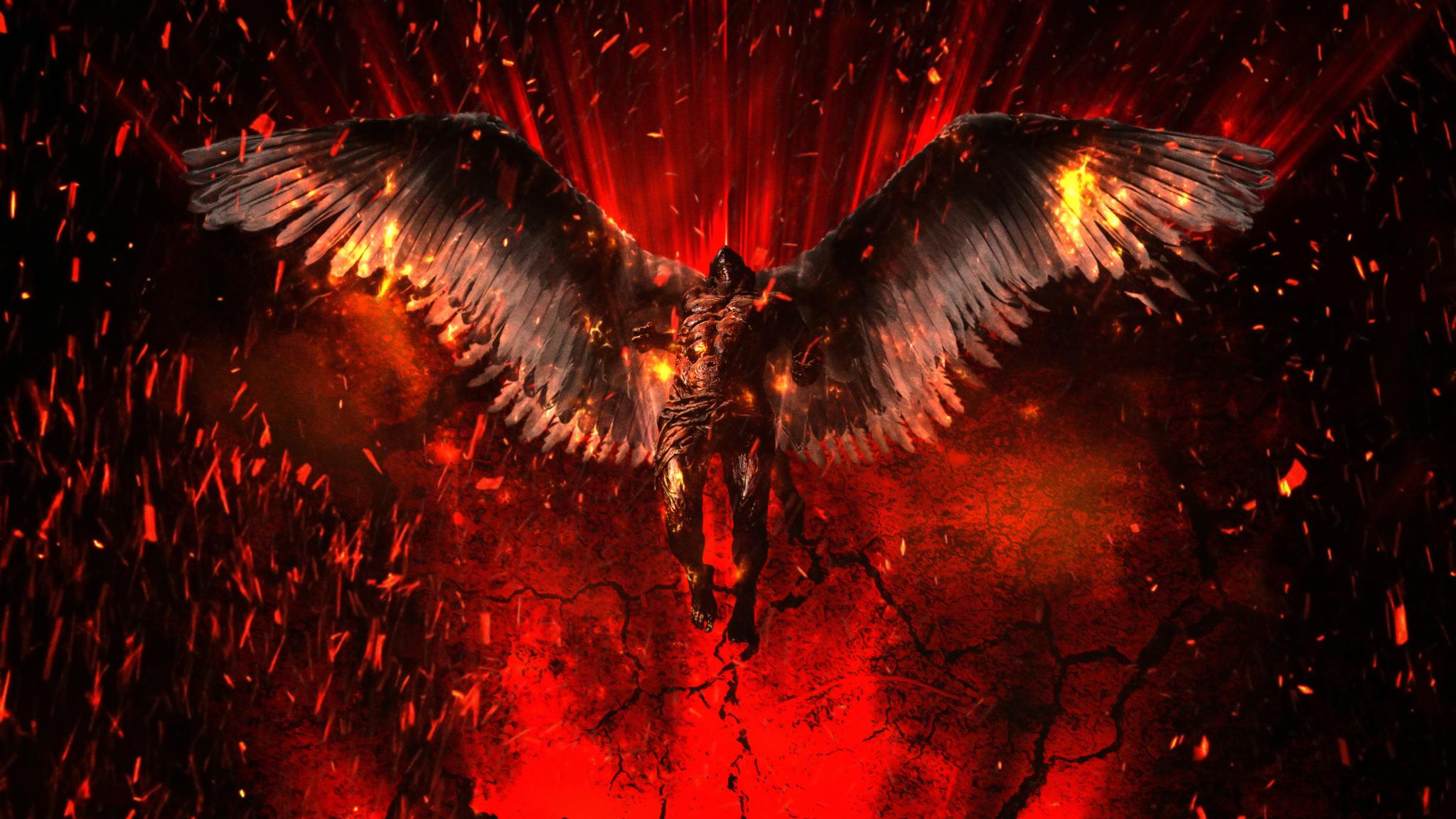 2048x1152 Lucifer 4K Artwork 2048x1152 Resolution ...
