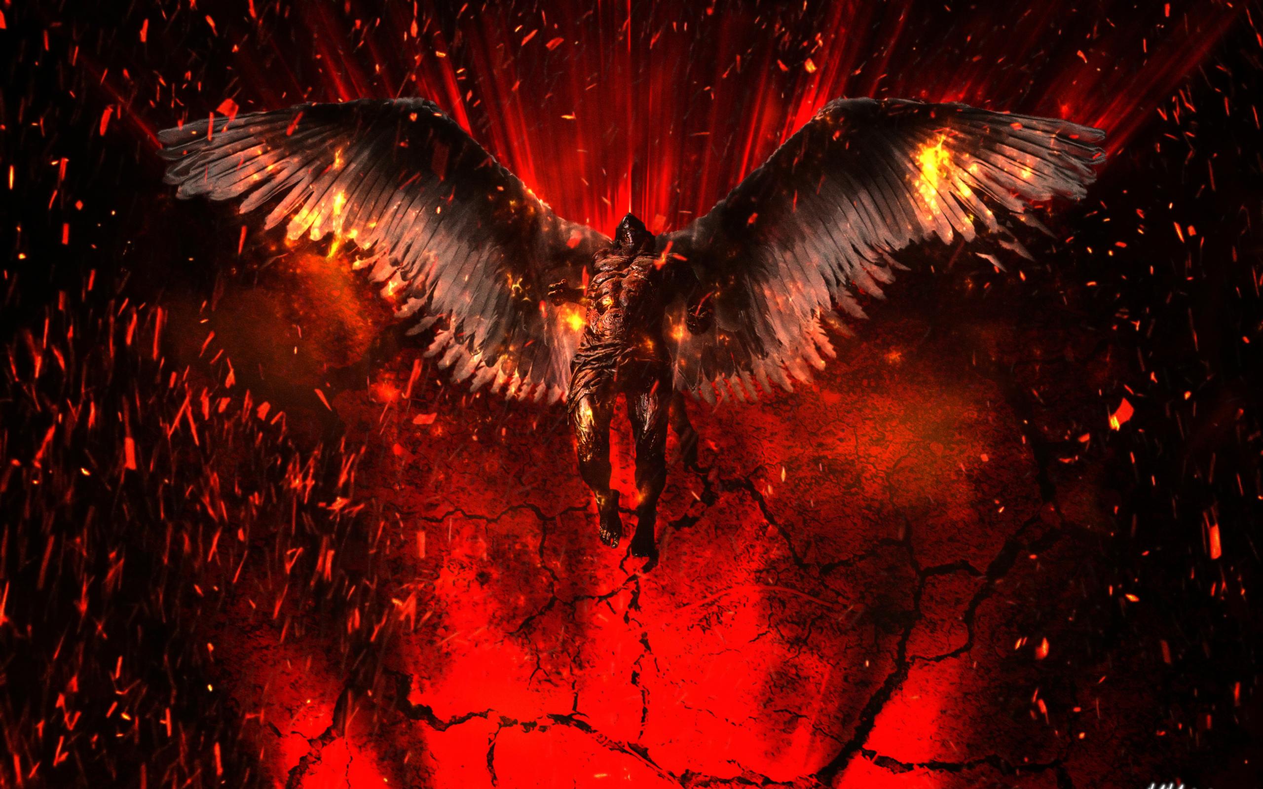 2560x1600 Lucifer 4K Artwork 2560x1600 Resolution ...