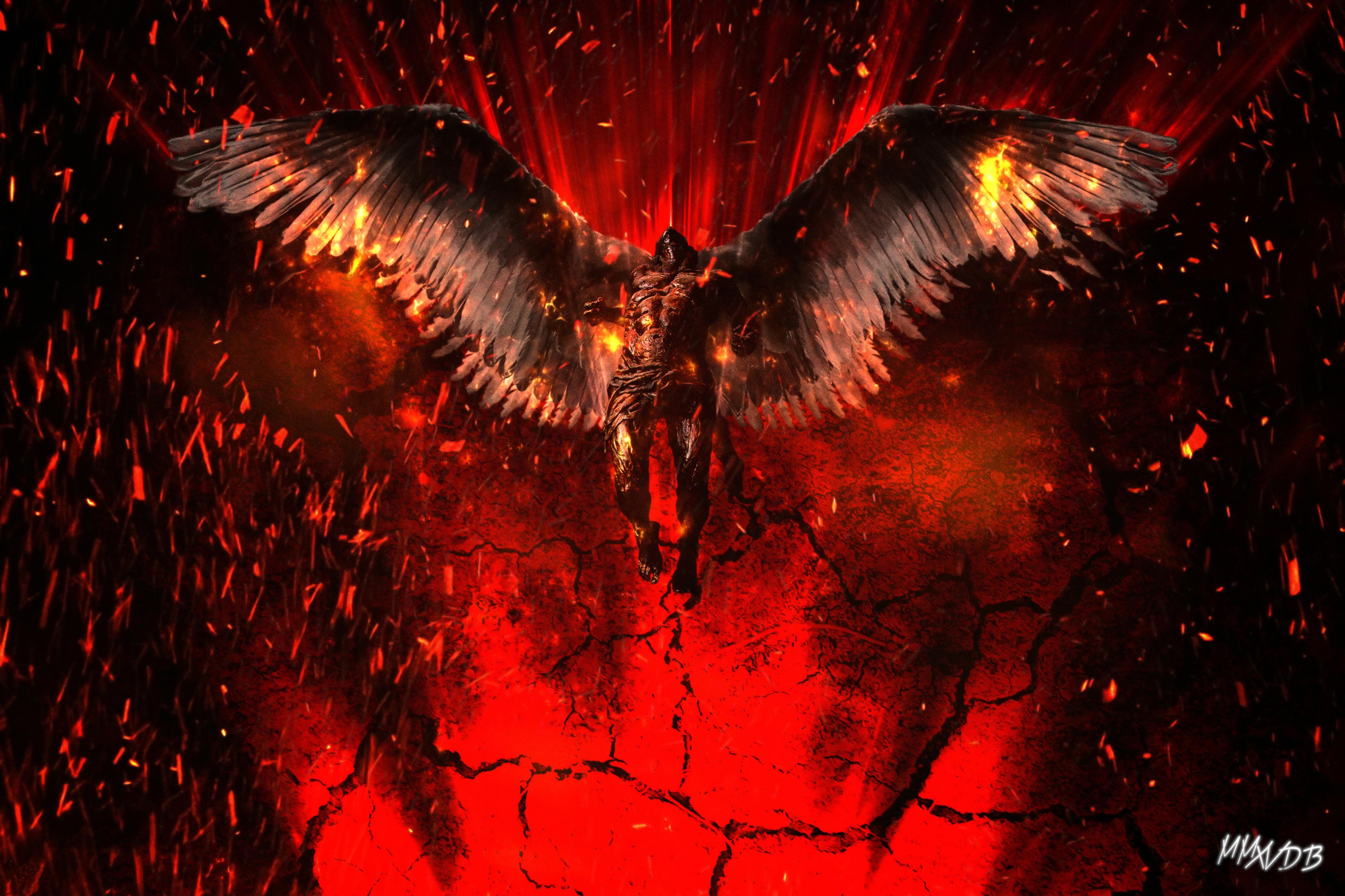 Lucifer 4k Artwork Wallpaper Hd Artist 4k Wallpapers