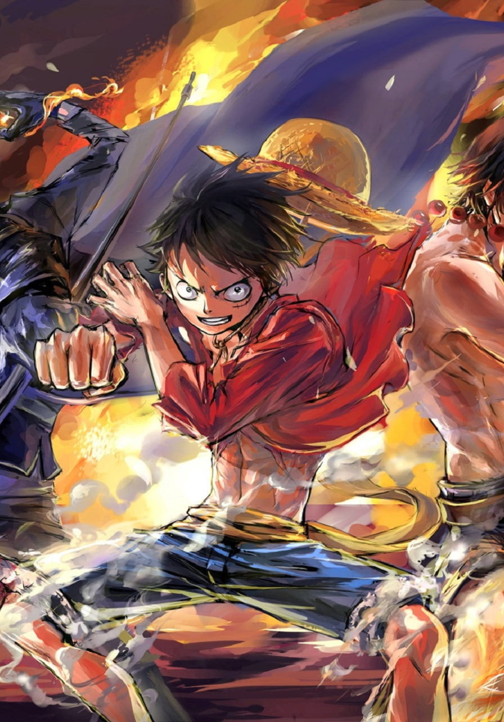 1668x2388 Luffy Ace And Sabo One Piece Team 1668x2388 Resolution Wallpaper Hd Anime 4k Wallpapers Images Photos And Background
