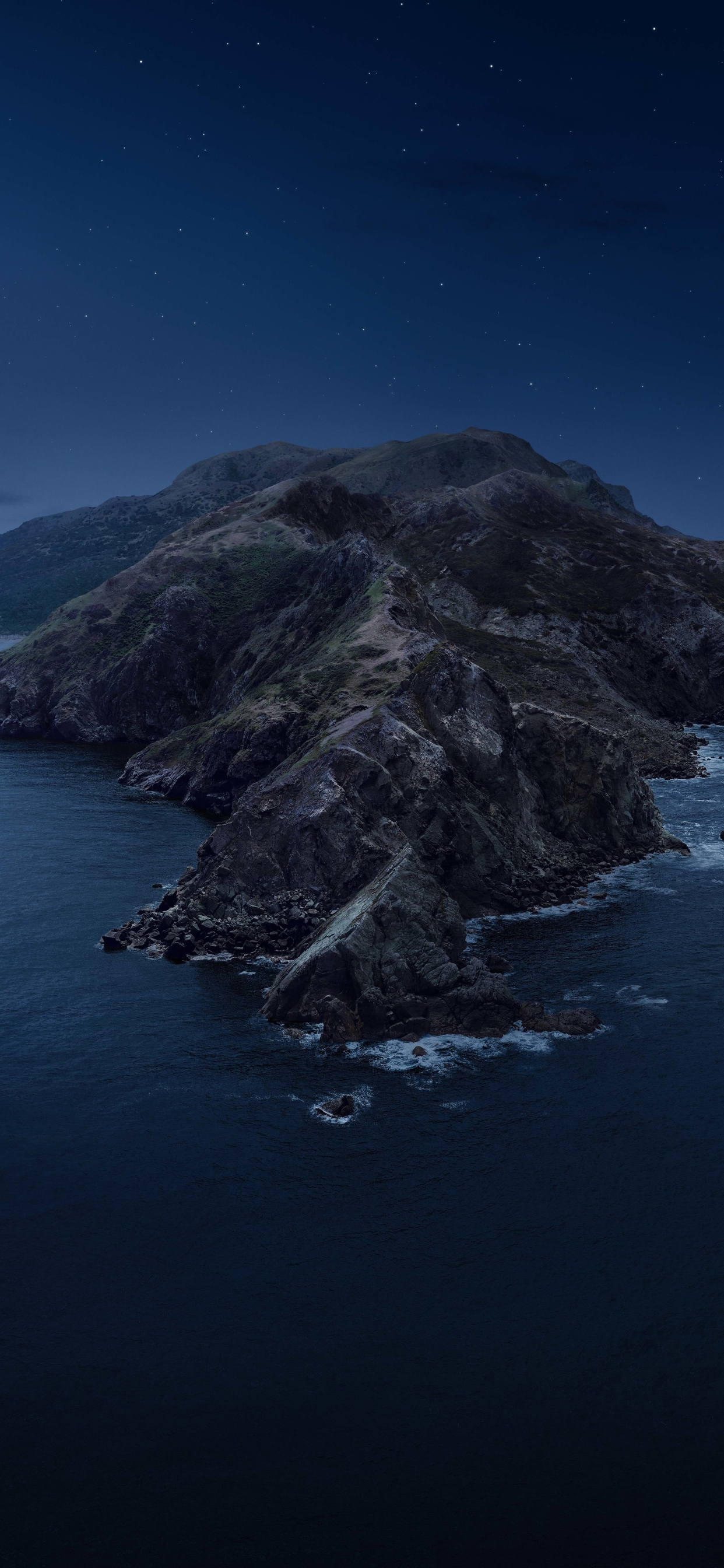 1242x2688 Macos Catalina Mountains Iphone Xs Max Wallpaper