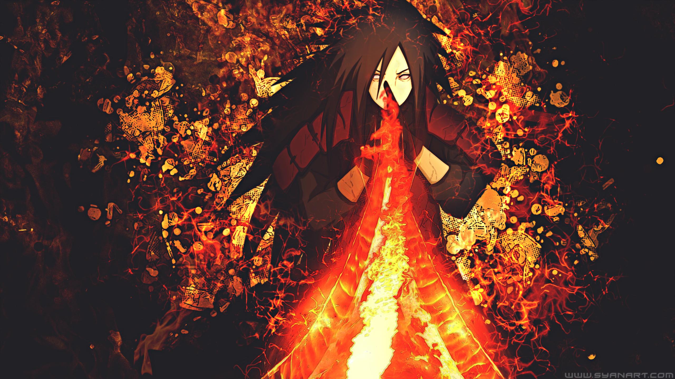 2560x1440 Madara Uchiha Naruto 1440P Resolution Wallpaper ...