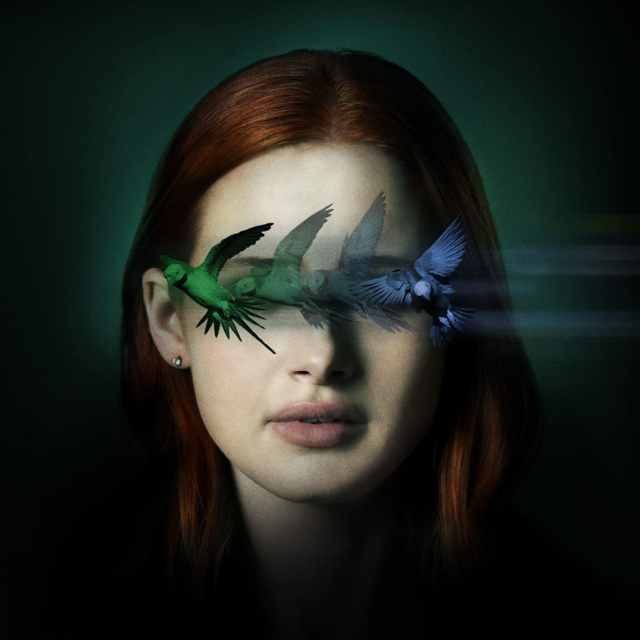 Madelaine Petsch Sightless Movie Wallpaper in 2048x2048 Resolution