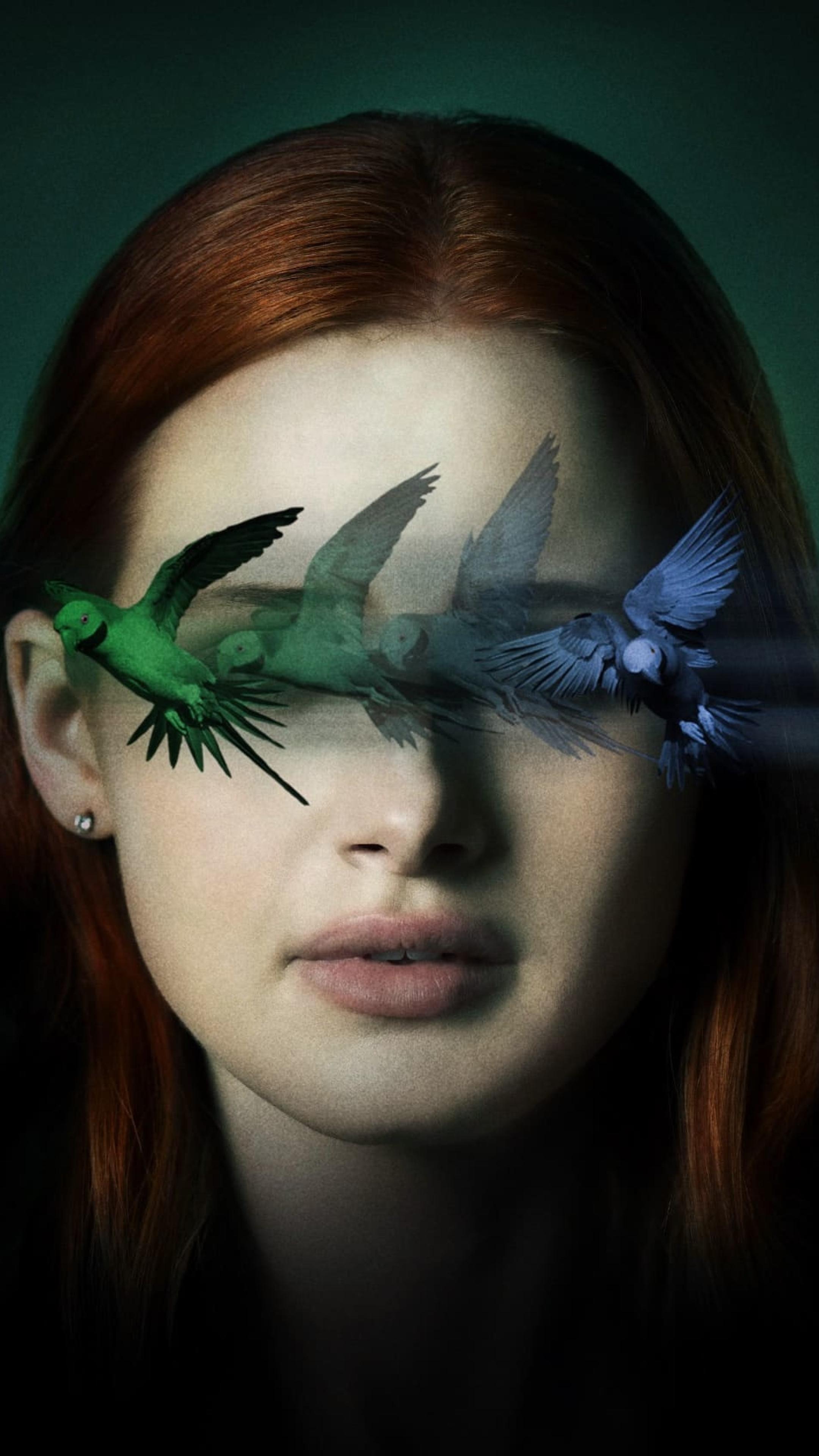 Madelaine Petsch Sightless Movie Wallpaper in 2160x3840 Resolution