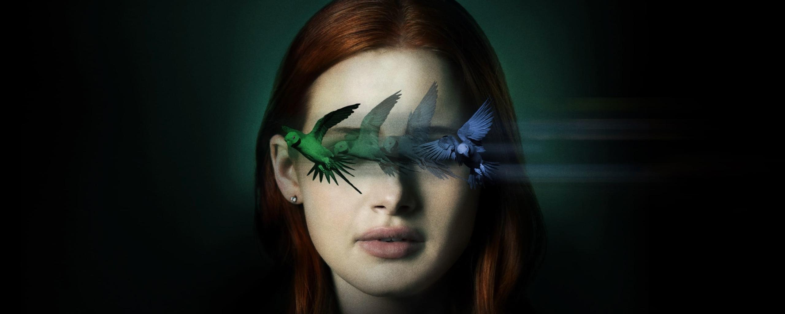 Madelaine Petsch Sightless Movie Wallpaper in 2560x1024 Resolution
