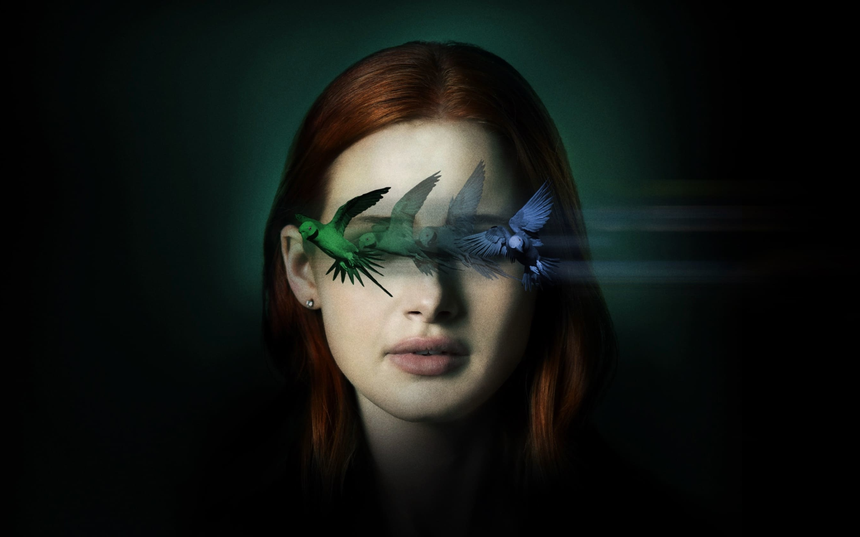 Madelaine Petsch Sightless Movie Wallpaper in 2880x1800 Resolution