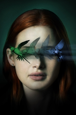 Madelaine Petsch Sightless Movie Wallpaper in 320x480 Resolution
