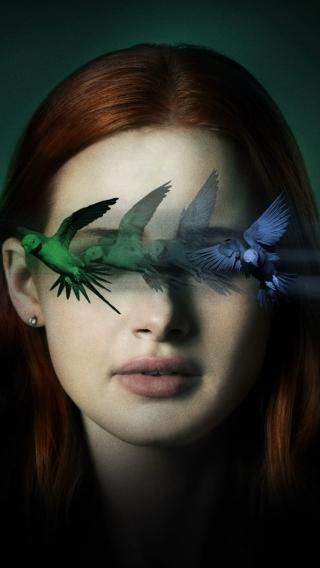 Madelaine Petsch Sightless Movie Wallpaper in 320x568 Resolution