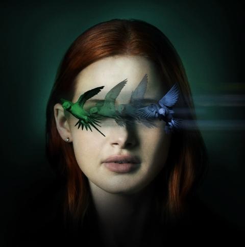 Madelaine Petsch Sightless Movie Wallpaper in 480x484 Resolution
