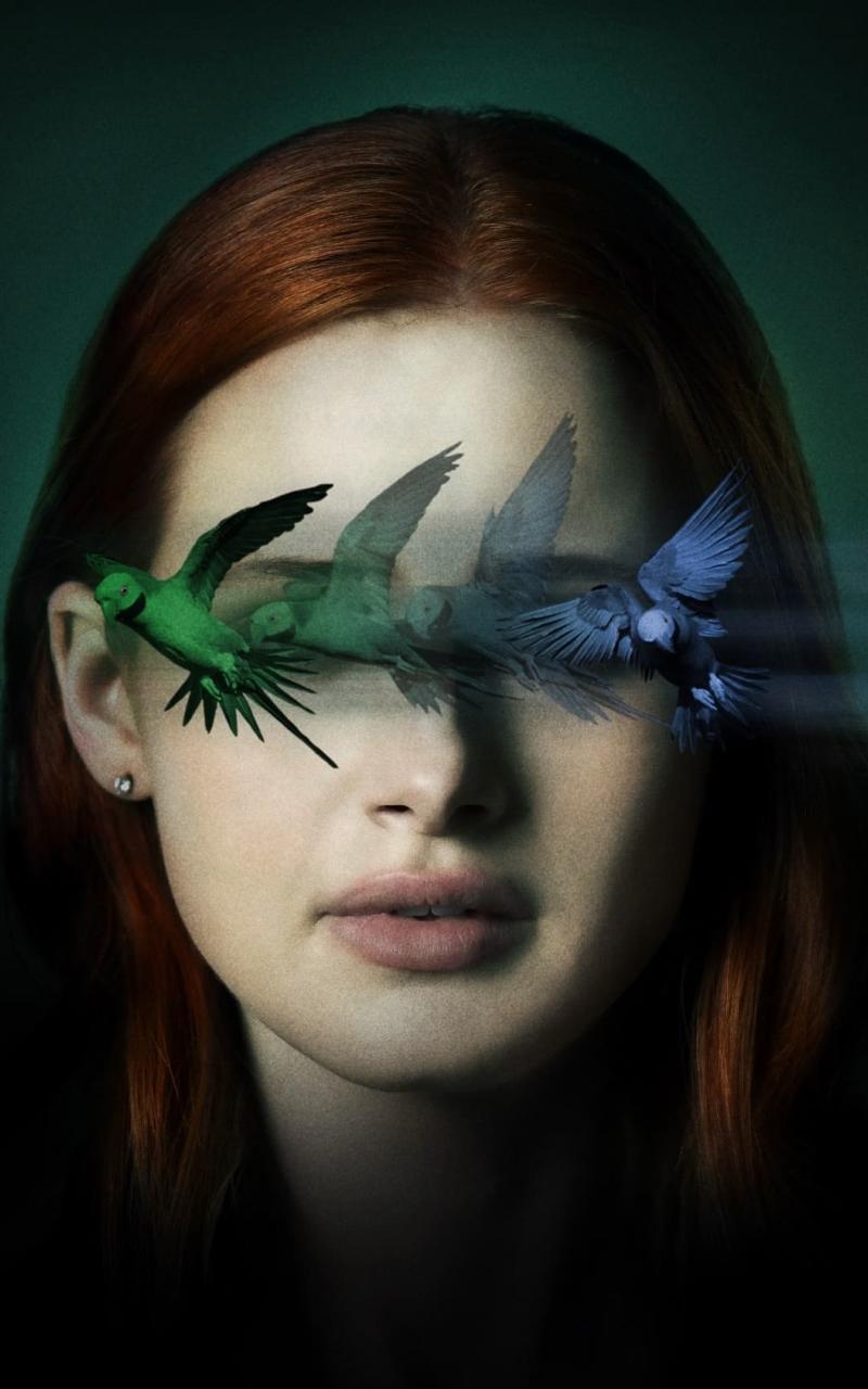 Madelaine Petsch Sightless Movie Wallpaper in 800x1280 Resolution