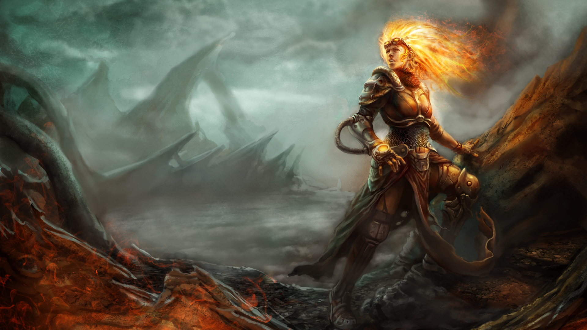 1920x1080 Magic The Gathering Chandra 1080p Laptop Full Hd