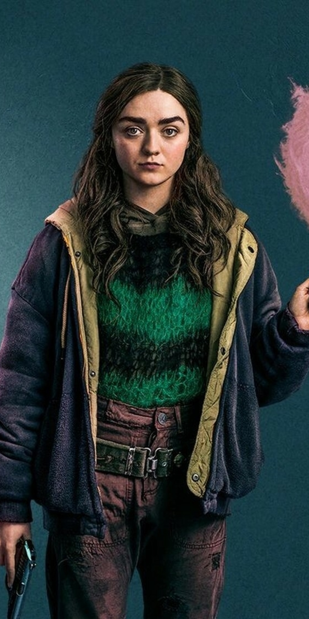 Maisie Williams Two Weeks To Live Wallpaper in 1080x2160 Resolution