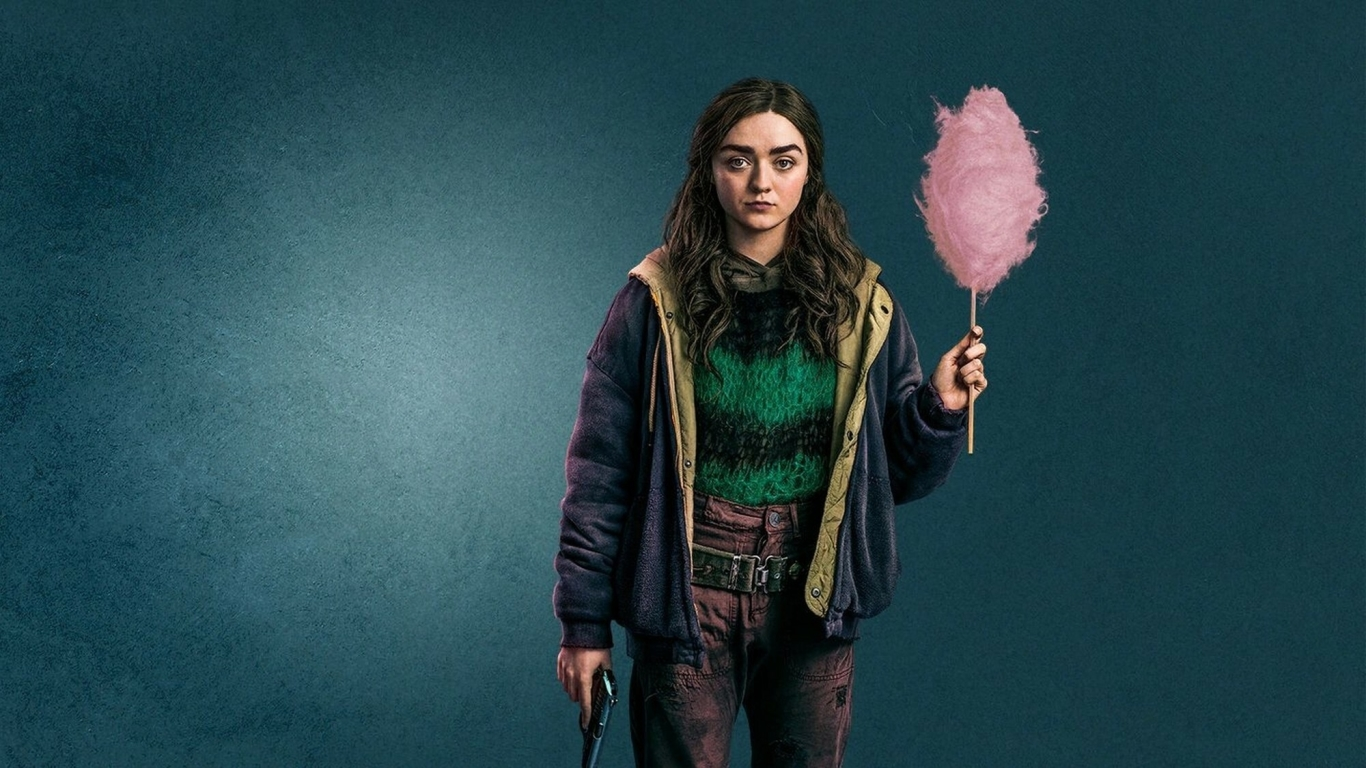 Maisie Williams Two Weeks To Live Wallpaper in 1366x768 Resolution