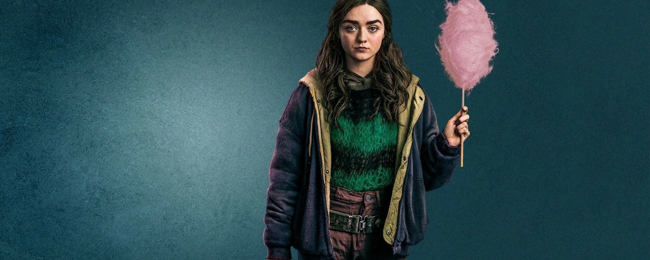 Maisie Williams Two Weeks To Live Wallpaper in 2560x1024 Resolution