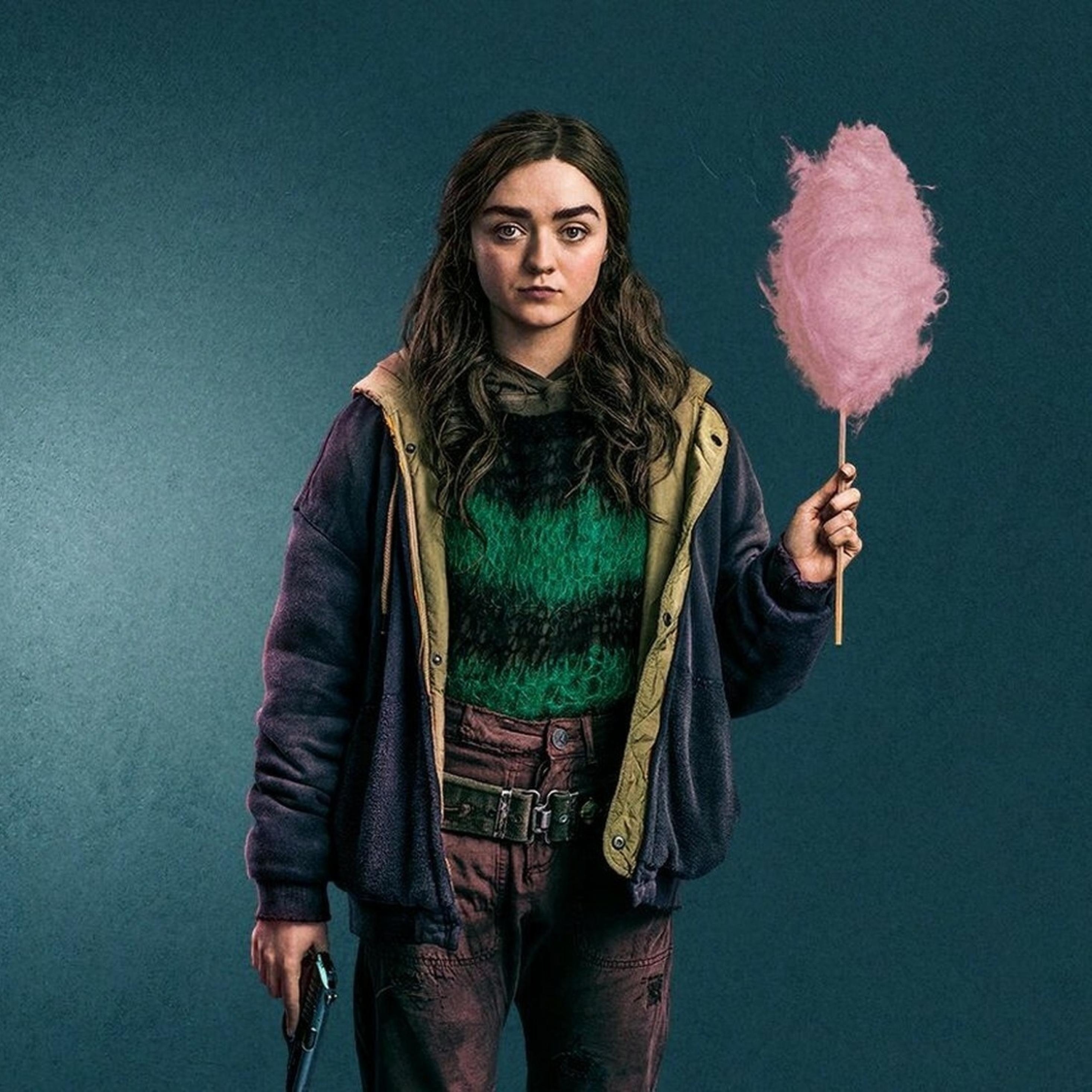 Maisie Williams Two Weeks To Live Wallpaper in 2932x2932 Resolution