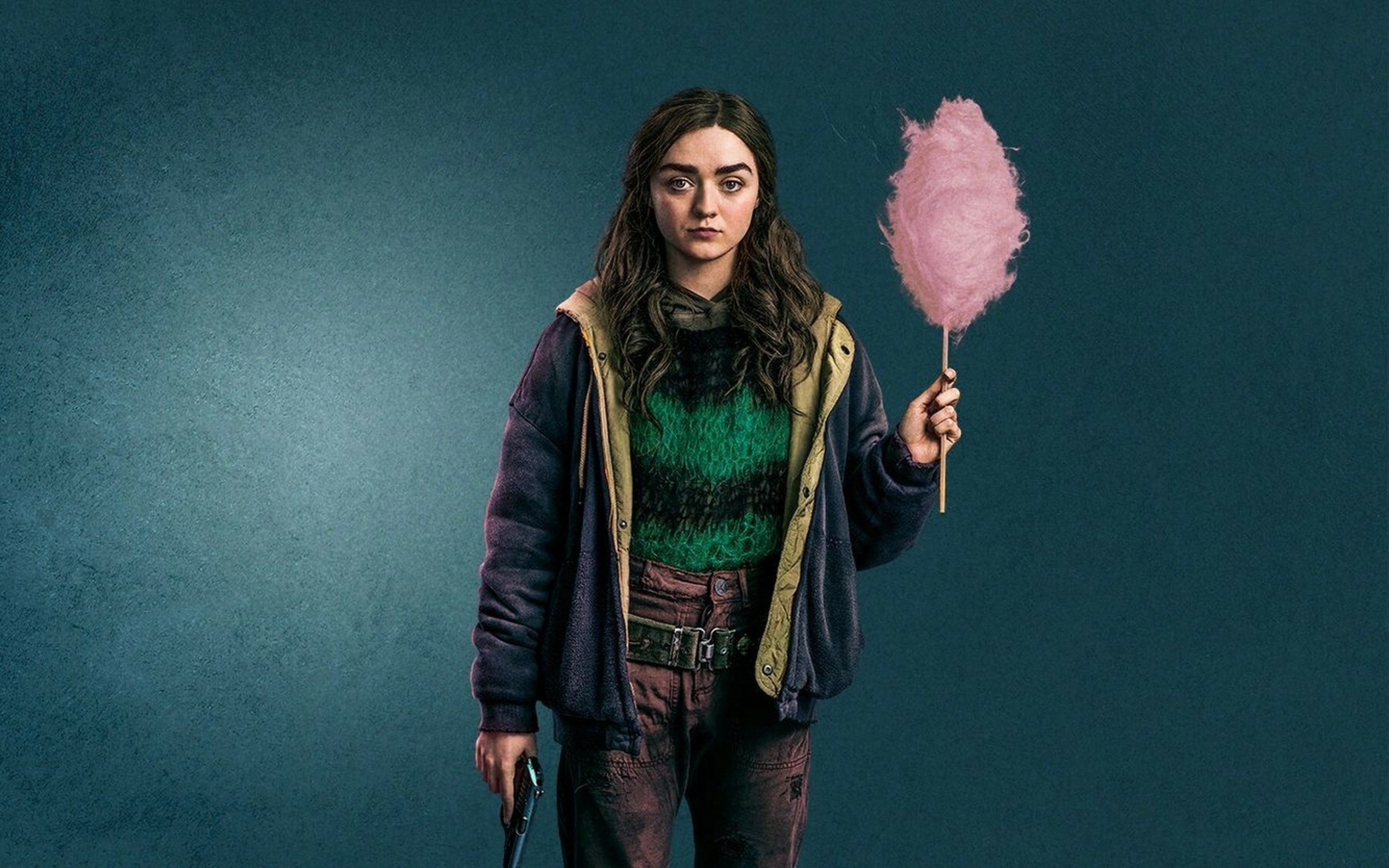 Maisie Williams Two Weeks To Live Wallpaper in 3840x2400 Resolution
