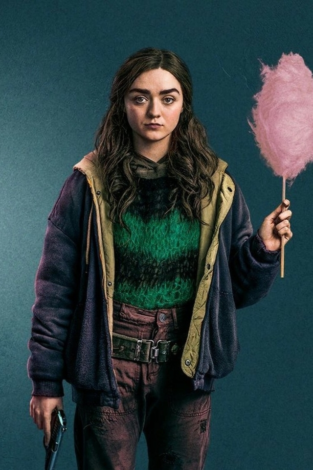 Maisie Williams Two Weeks To Live Wallpaper in 640x960 Resolution
