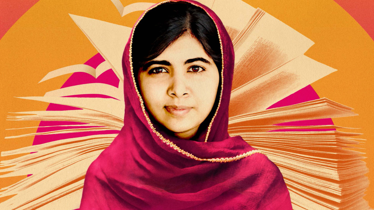 Malala Yousafzai Wallpaper in 1280x720 Resolution