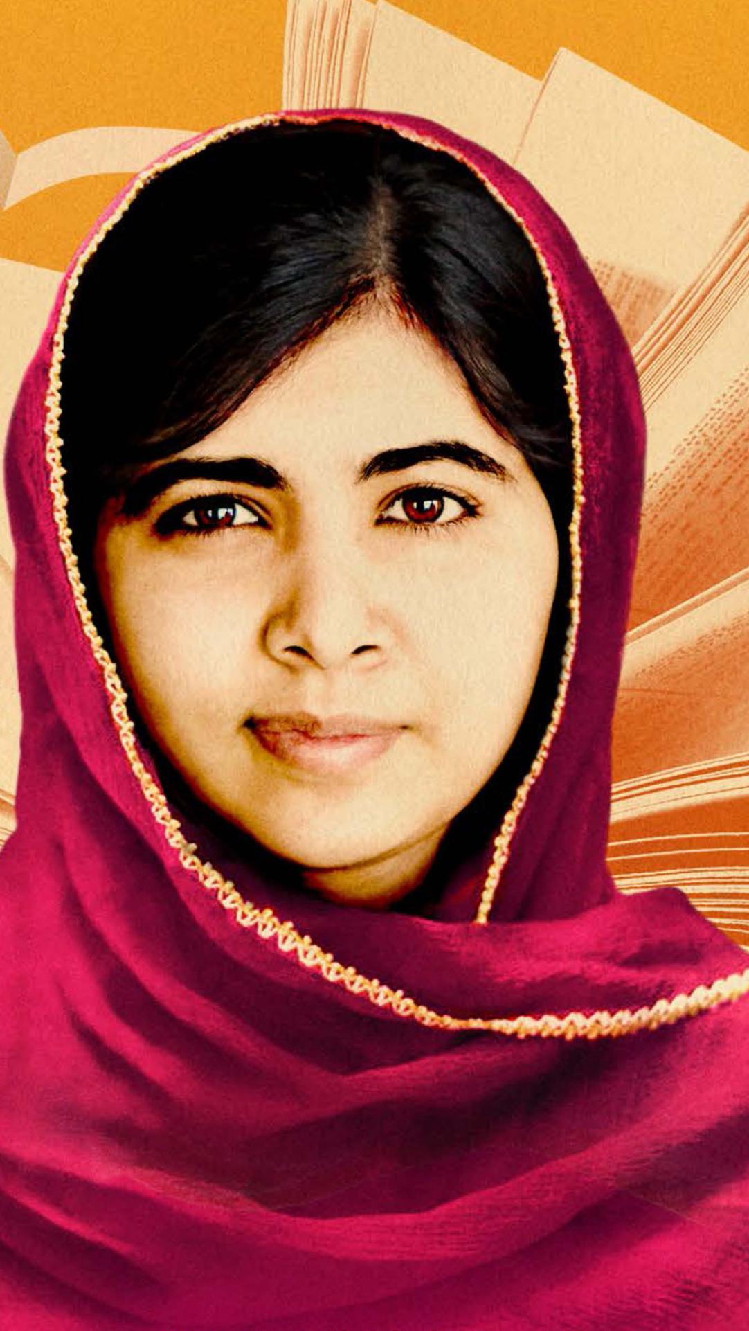Malala Yousafzai Full Hd 2k Wallpaper