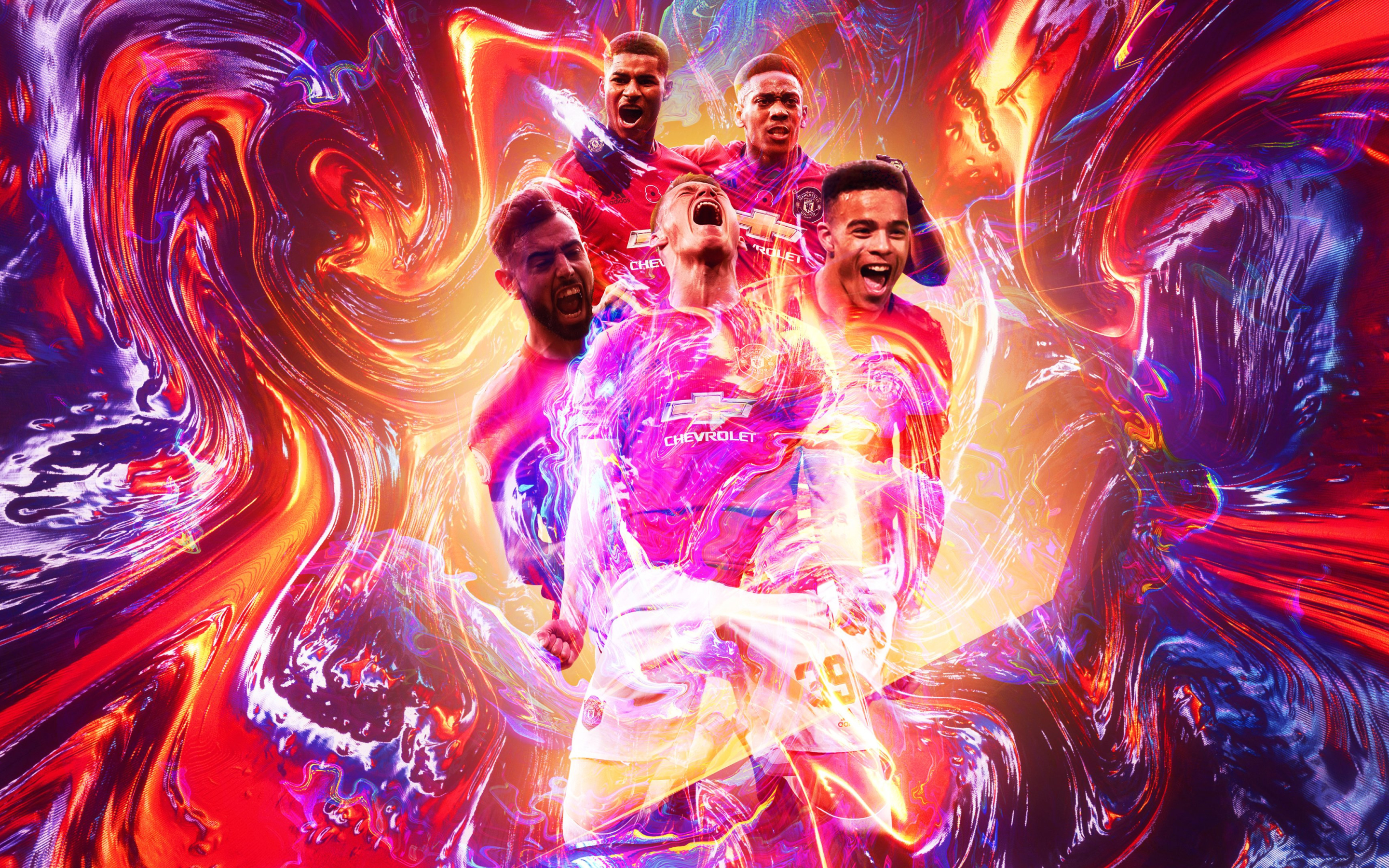 2880x1800 Manchester United F C Poster Macbook Pro Retina Wallpaper Hd Sports 4k Wallpapers Images Photos And Background Wallpapers Den