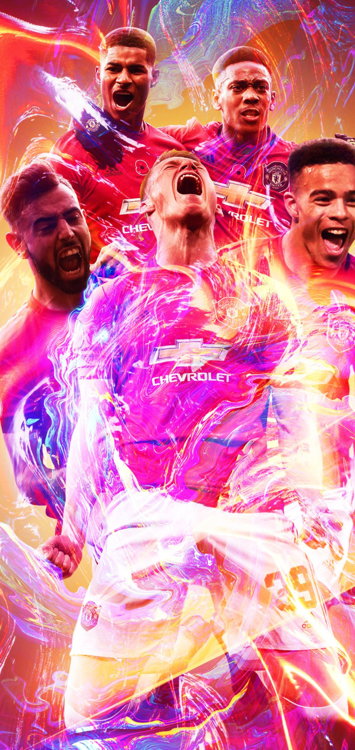 720x1520 Manchester United F.C. Poster 720x1520 Resolution ...