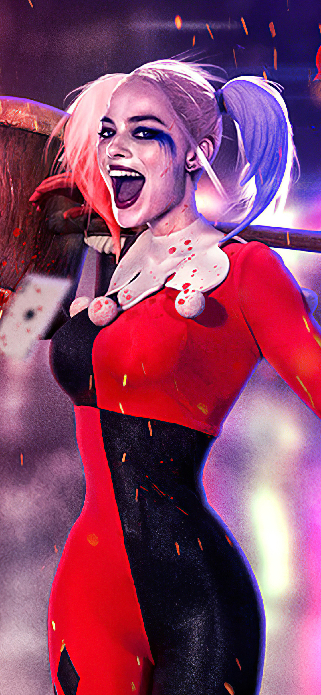1125x2436 Margot New Harley Quinn Iphone XS,Iphone 10 ...
