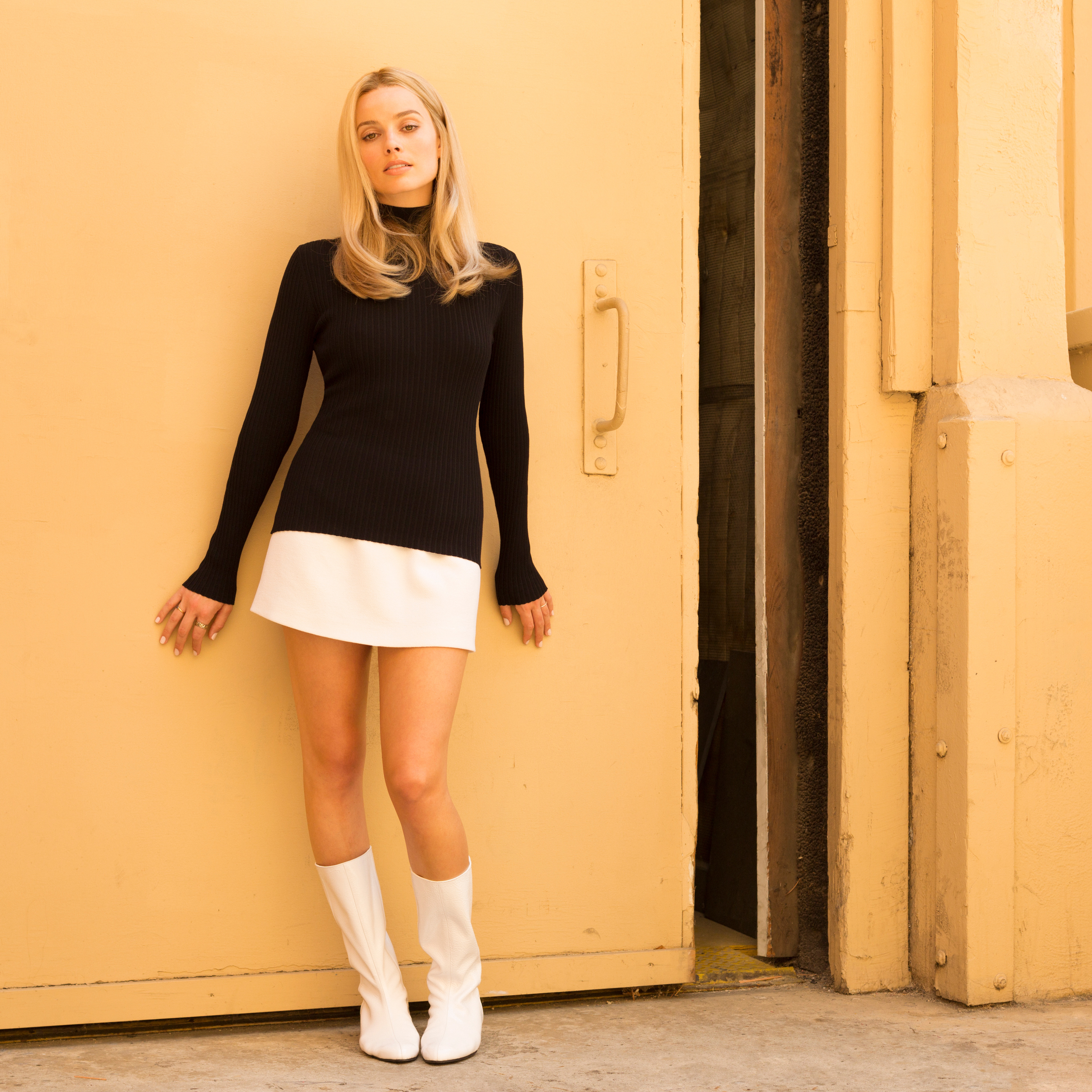 Margot Robbie As Sharon Tate In Once Upon A Time In