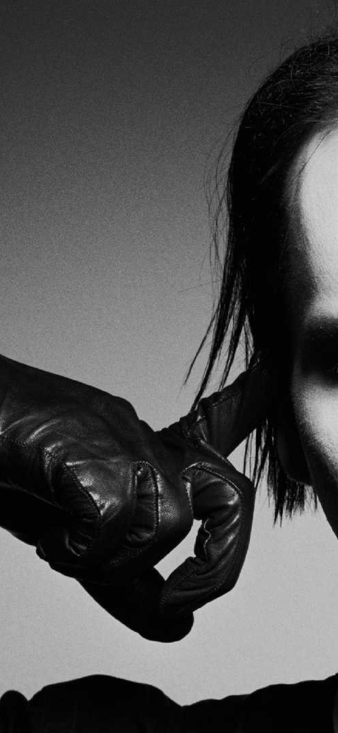 1125x2436 Marilyn Manson Face Makeup Iphone Xs Iphone 10 Iphone