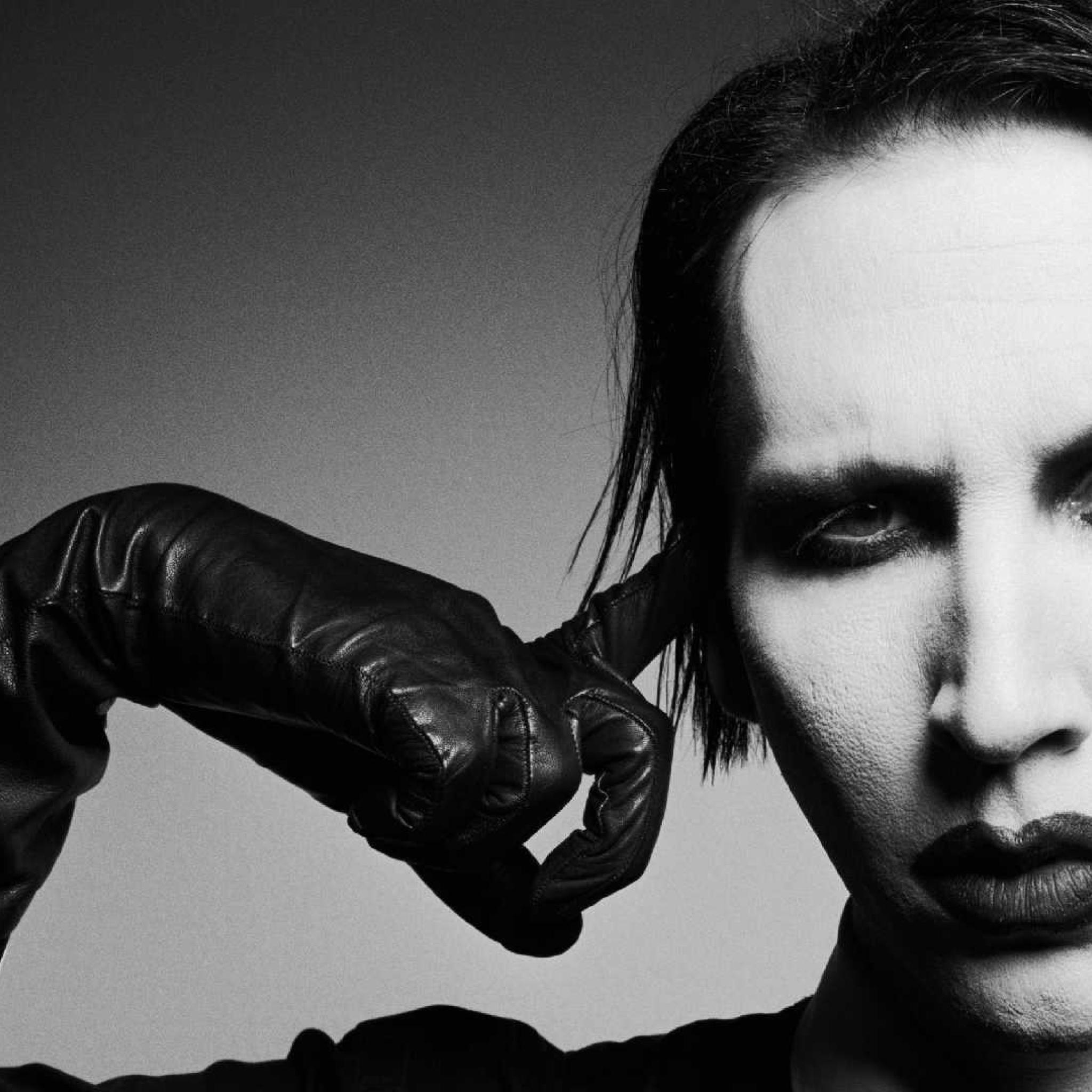 2048x2048 Marilyn Manson Face Makeup Ipad Air Wallpaper Hd