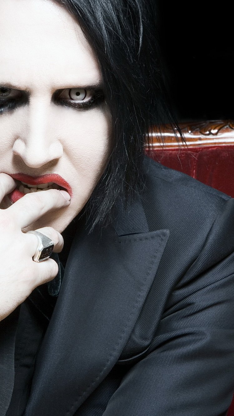750x1334 Marilyn Manson Rock Band Singer Iphone 6 Iphone 6s