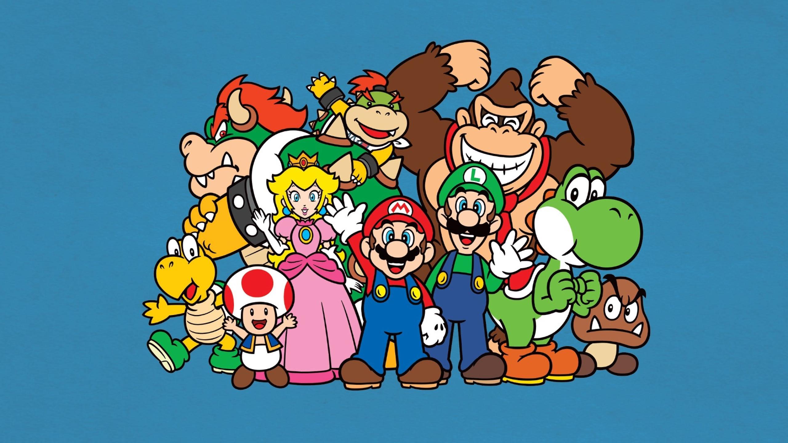 2560x1440 Mario Bros Luigi Yoshi 1440p Resolution Wallpaper Hd Games 4k Wallpapers Images Photos And Background