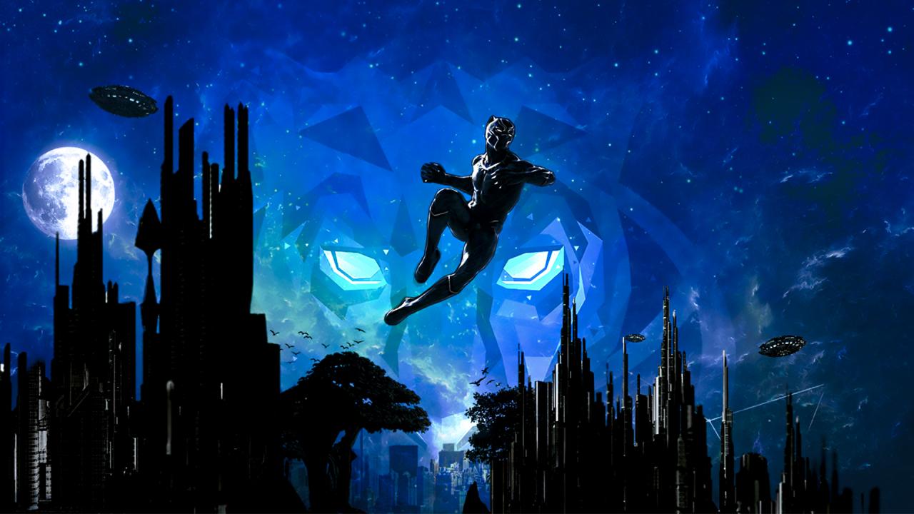 Pantera Imagenes Para Fondo De Pantalla Hd: Marvel Black Panther Artwork 2018, Full HD Wallpaper