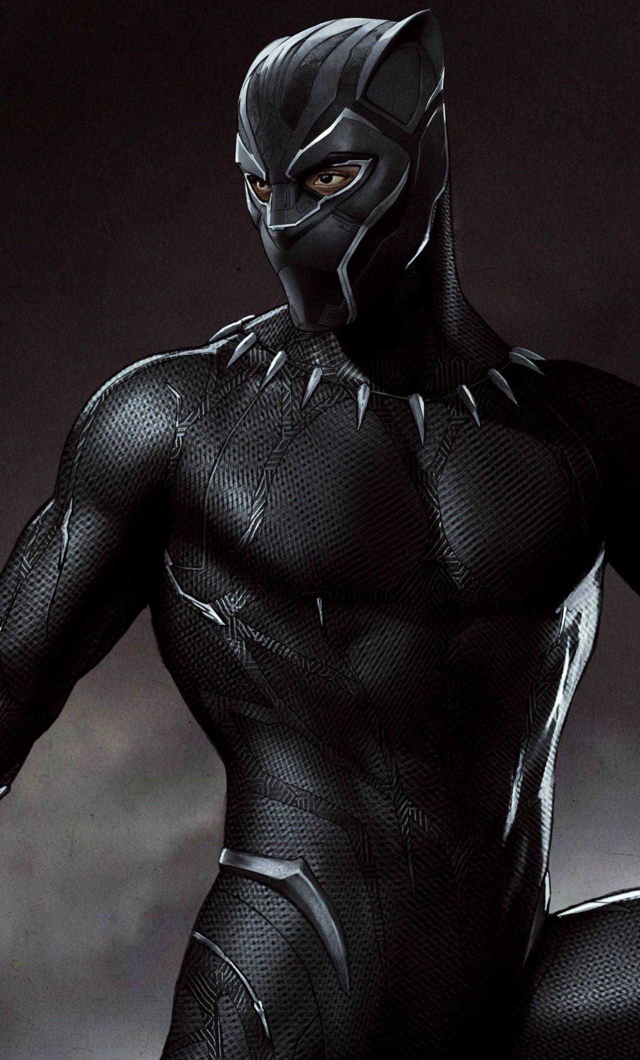 Wallpaper Black Panther, Artwork, 4K, 8K, Movies, 8692 ...