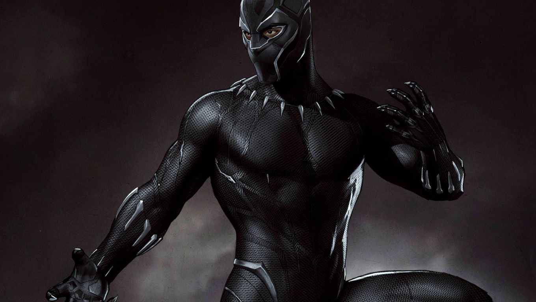 1360x768 Marvel Black Panther Artwork Desktop Laptop HD ...