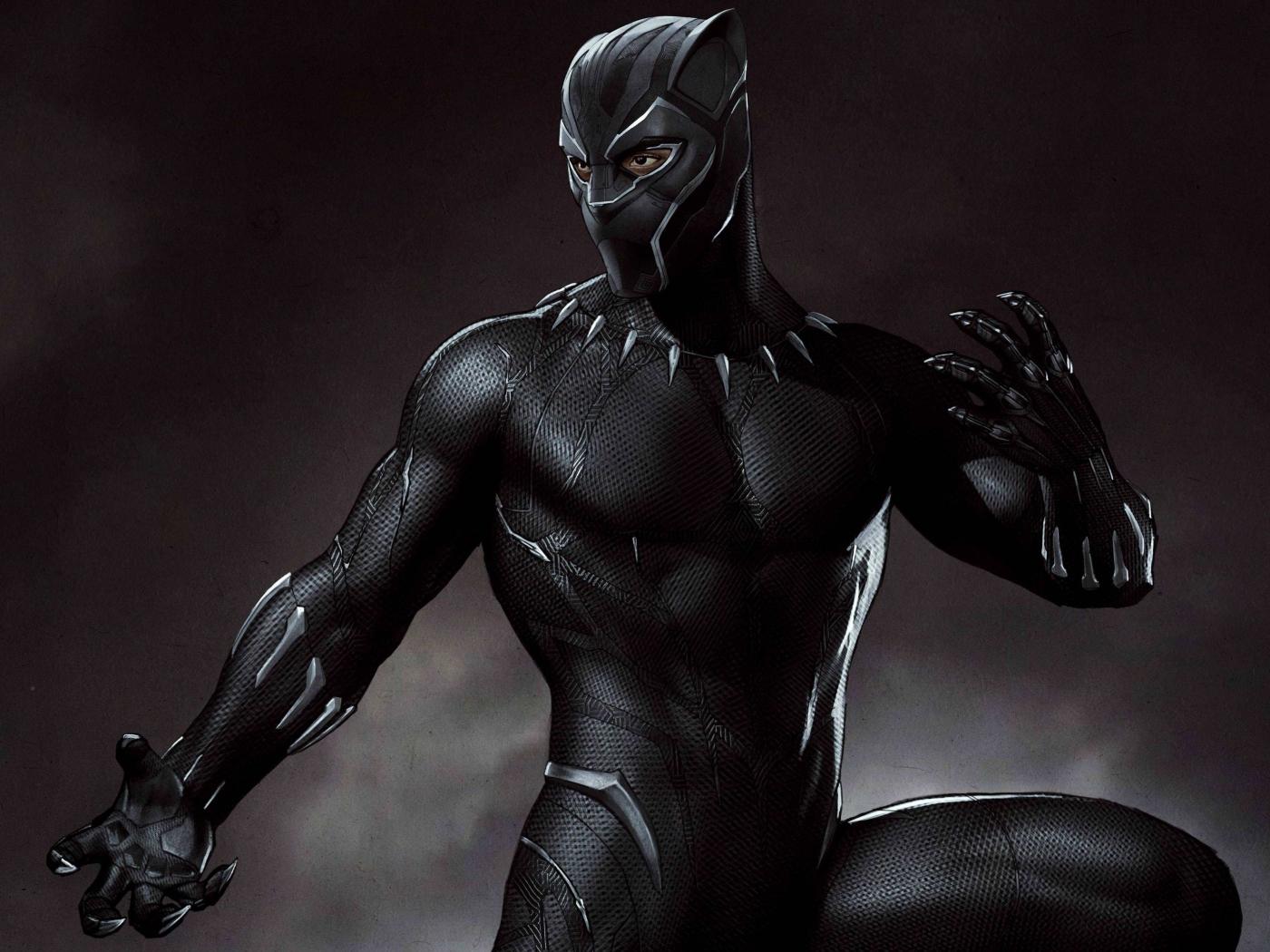 Black Panther Wallpaper Marvel: Marvel Black Panther Artwork, HD 4K Wallpaper