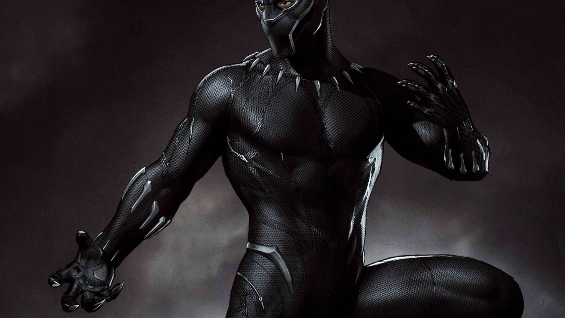 1920x1080 Marvel Black Panther Artwork 1080p Laptop Full Hd