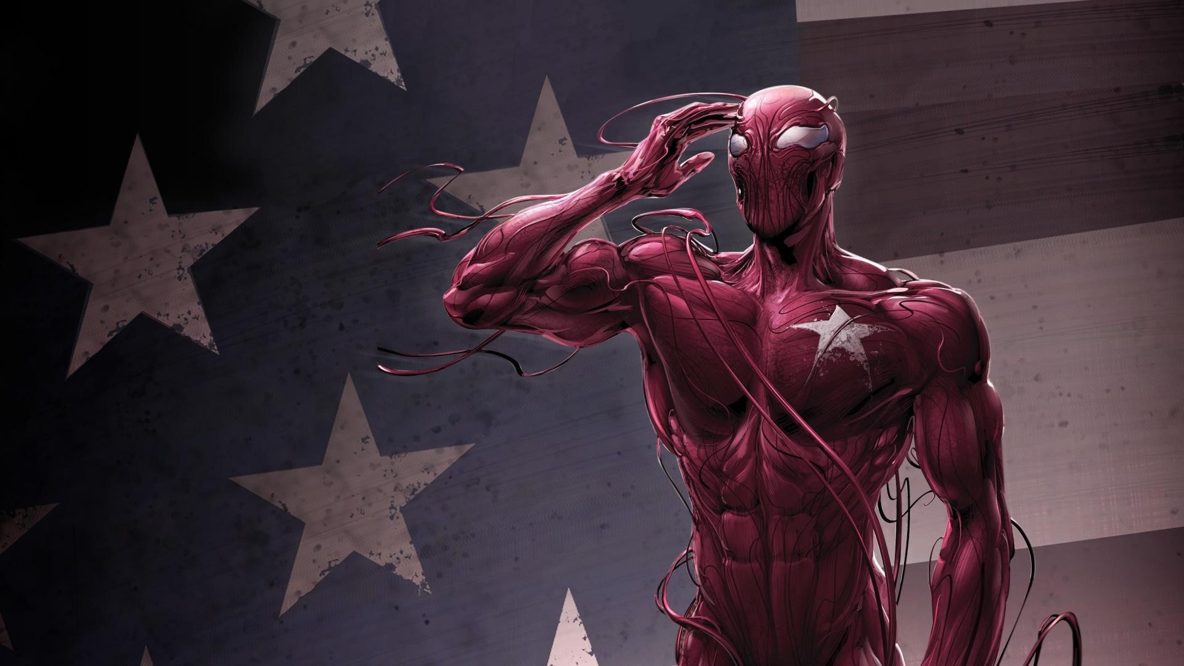 3840x2160 Marvel Comics Carnage 4k Wallpaper Hd Superheroes