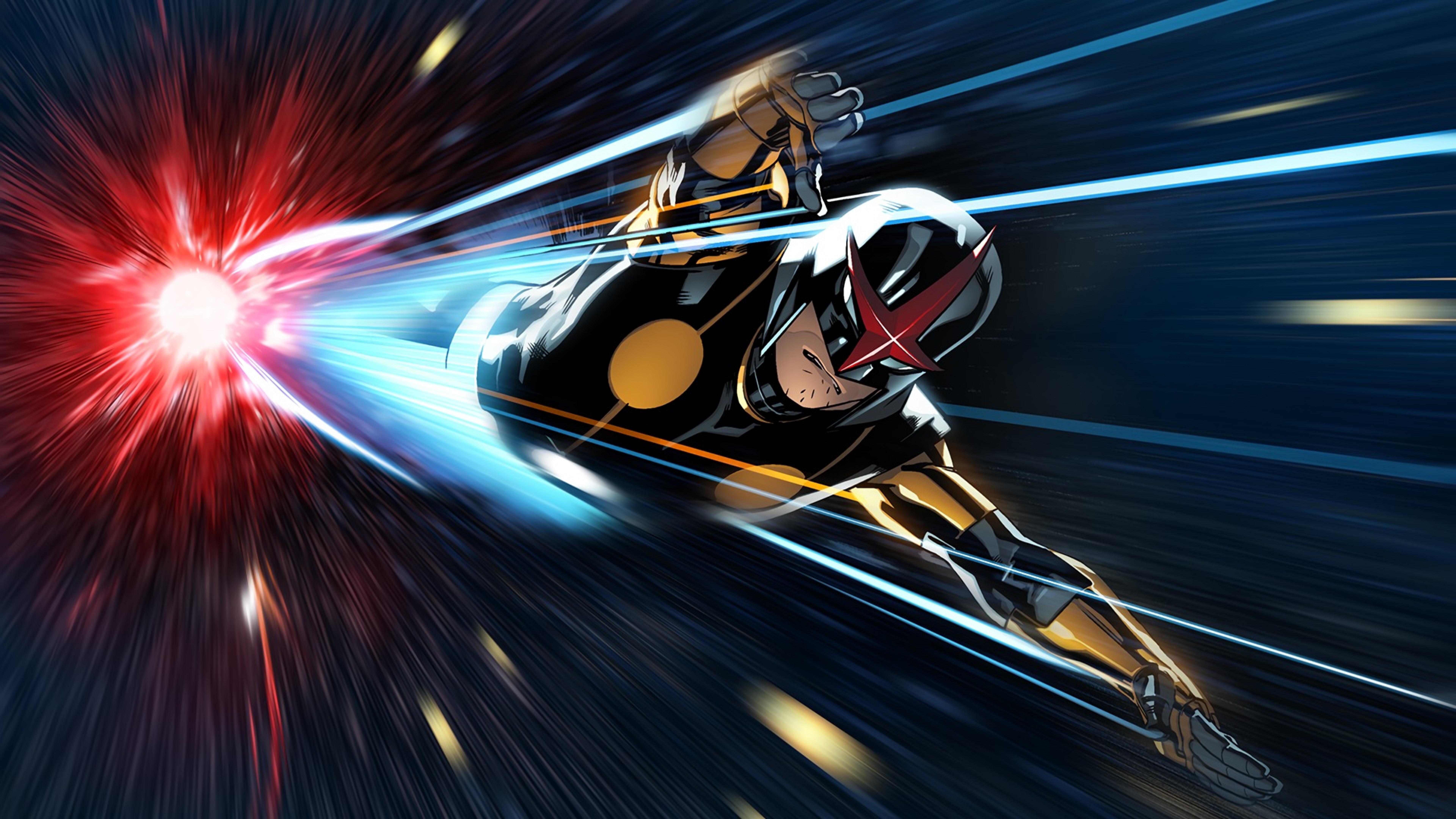 Marvel Comics Nova Aka Richard Rider  Full Hd Wallpaper