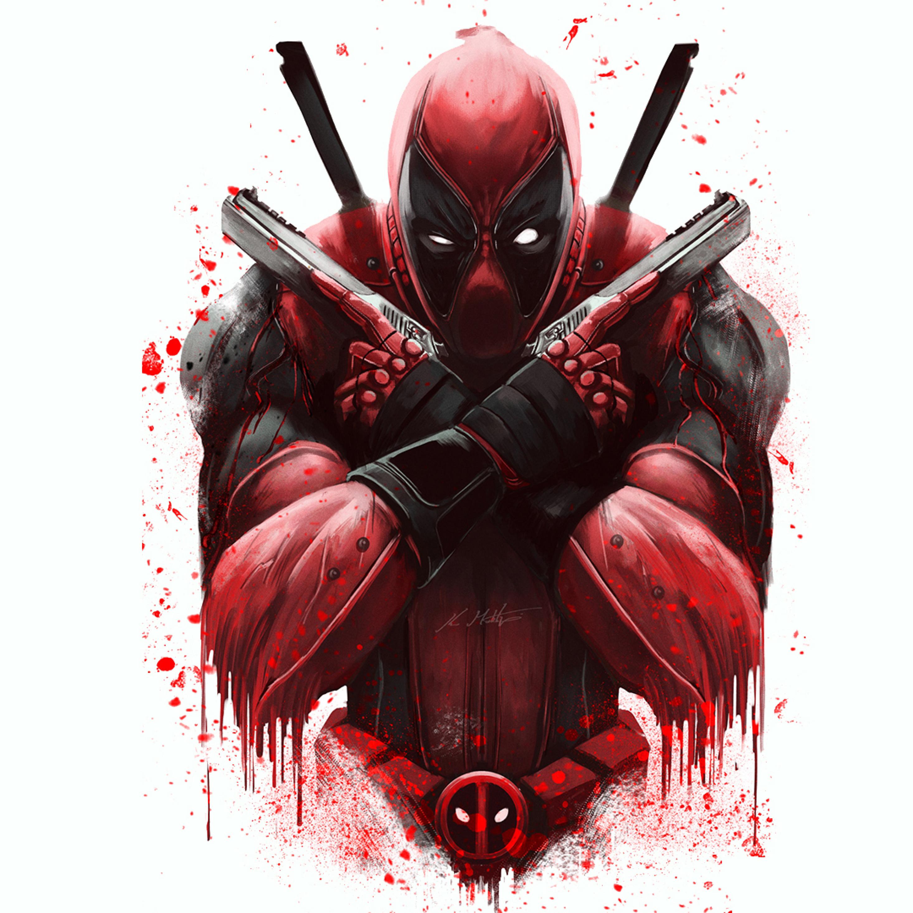 Marvel Deadpool Artwork, Full HD Wallpaper