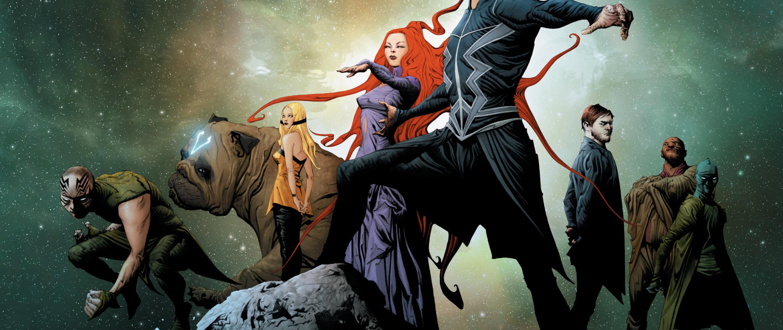 Marvel Inhumans Artwork Poster Hd 8k Wallpaper