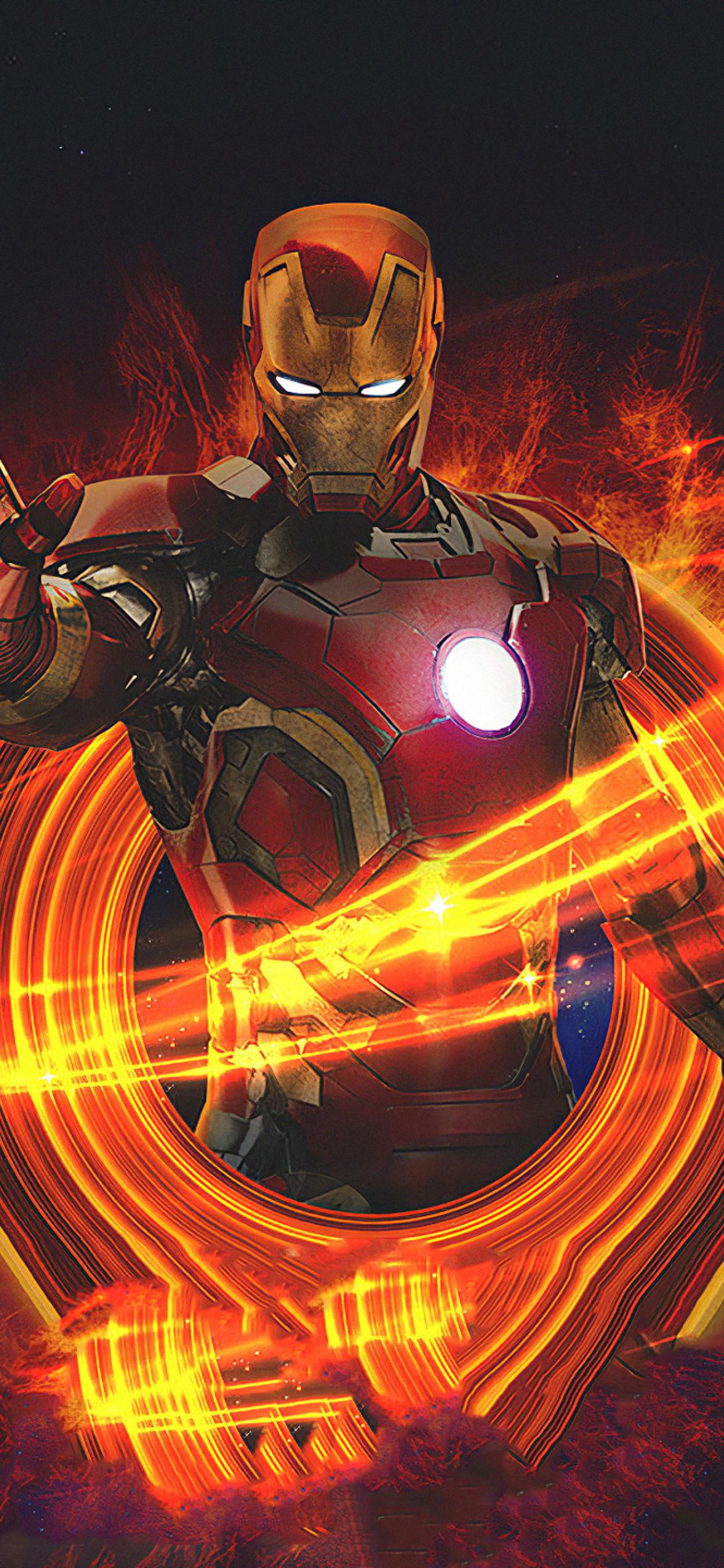 1242x2688 Marvel Iron Man Art Iphone XS MAX Wallpaper, HD ...