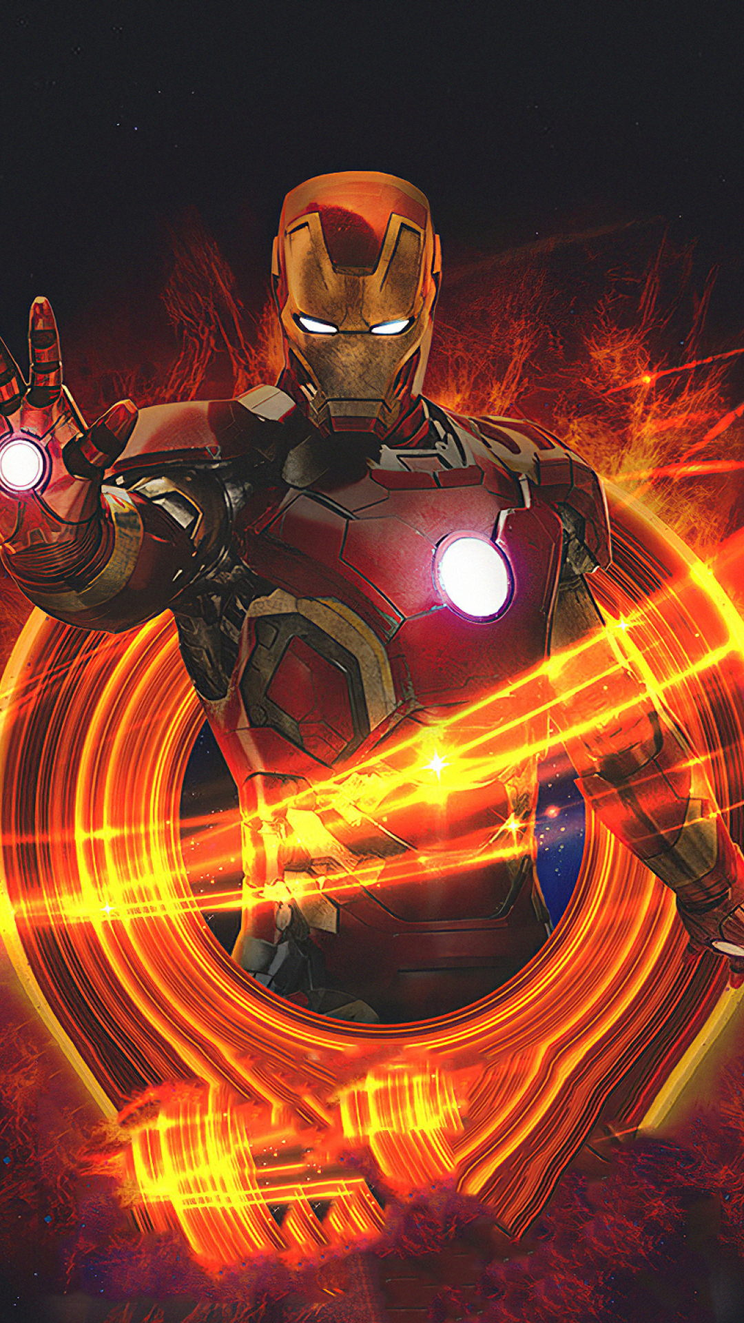 1080x1920 Marvel Iron Man Art Iphone 7, 6s, 6 Plus and ...