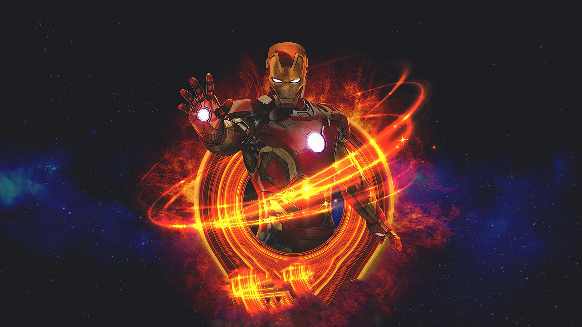 1920x1080 Marvel Iron Man Art 1080P Laptop Full HD ...