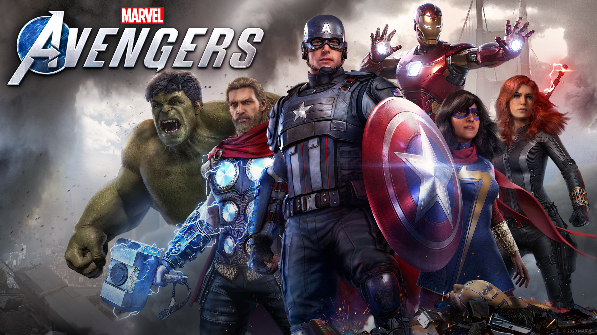 Marvel S Avengers Video Game Wallpaper Hd Games 4k Wallpapers Images Photos And Background