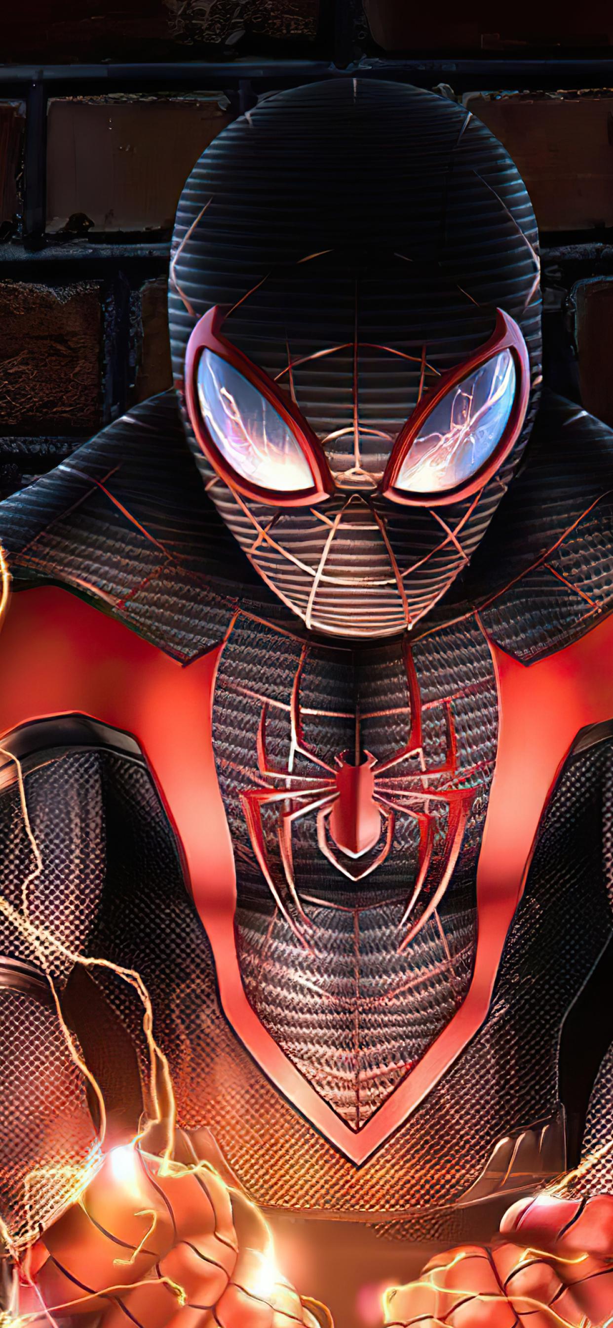 1242x2688 Marvel Spider Man New 4K Iphone XS MAX Wallpaper ...