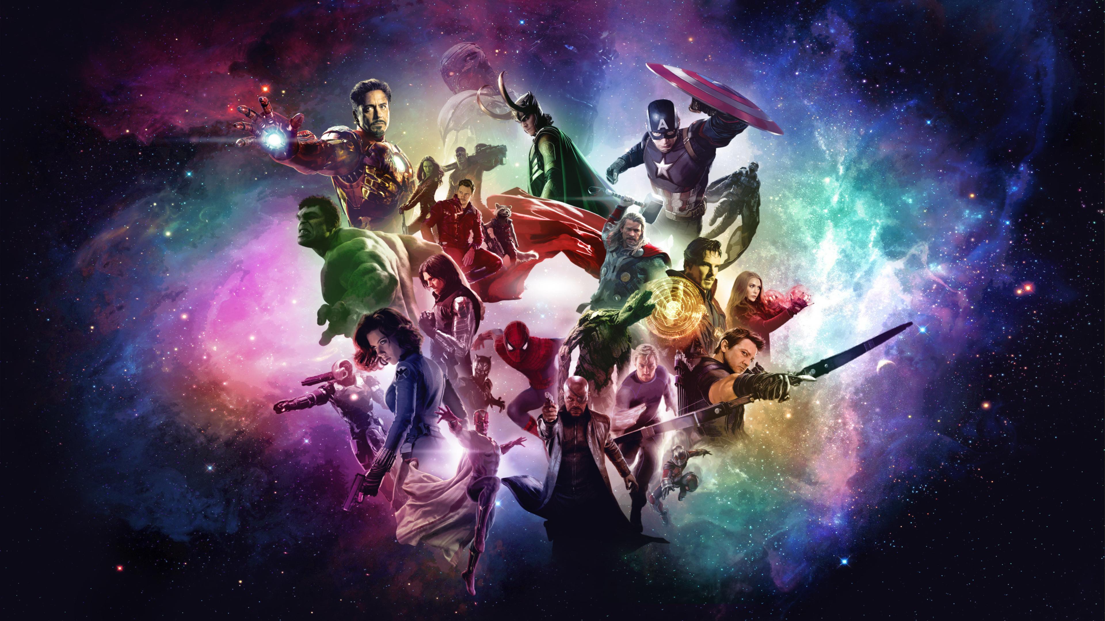 3840x2160 Marvel Studios Avengers 4K Wallpaper, HD Movies ...
