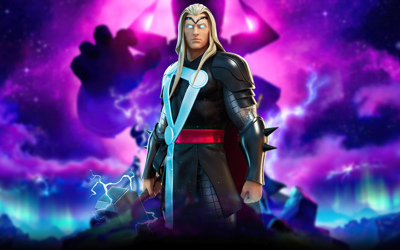 Marvel Thor Fortnite Wallpaper in 1280x800 Resolution