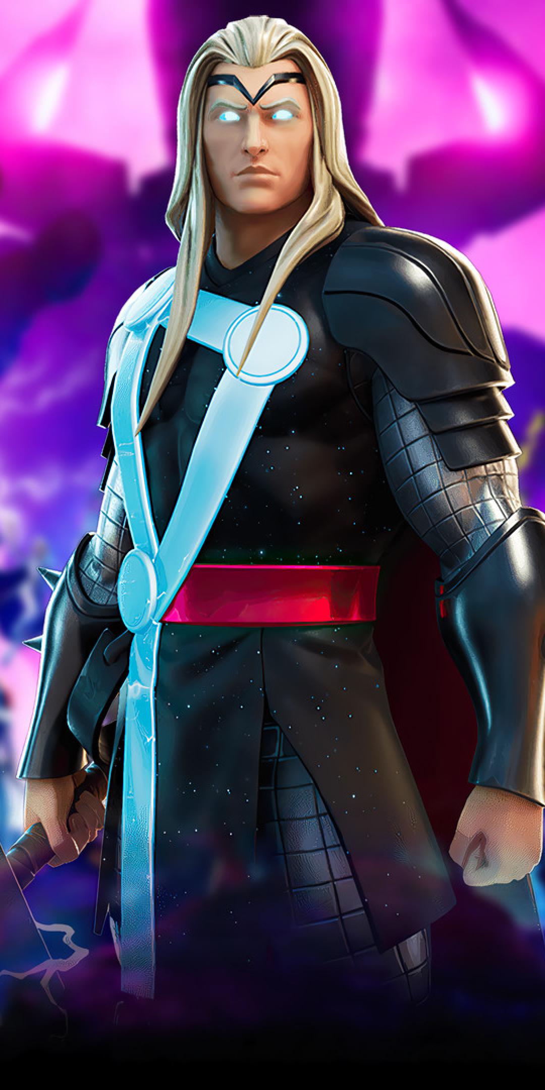 Marvel Thor Fortnite Wallpaper in 1080x2160 Resolution