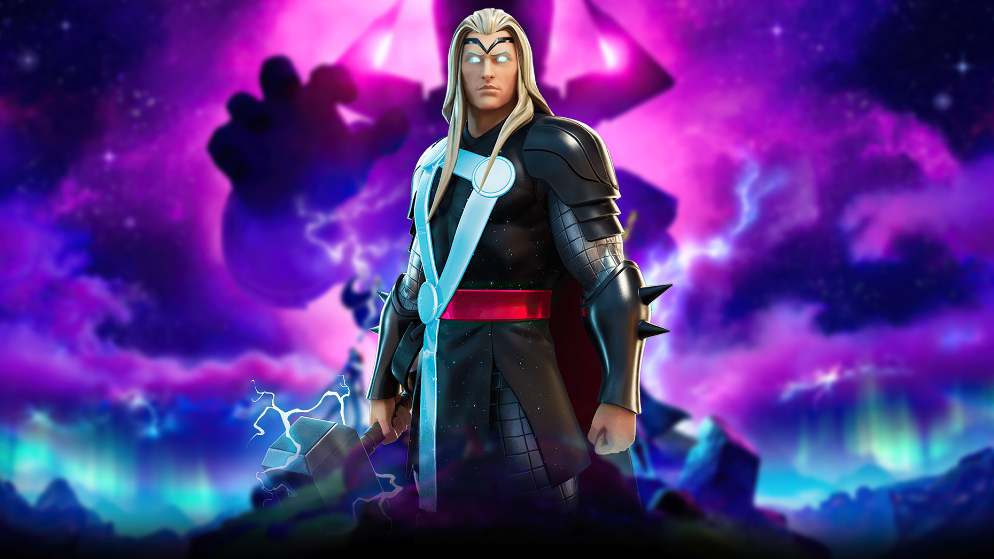 Marvel Thor Fortnite Wallpaper in 2048x1152 Resolution